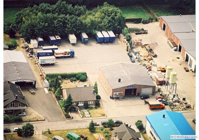 Unser Betriebsgelände in Koslar